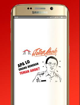 Teman Ahok poster