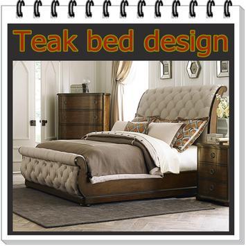 Teak bed design apk screenshot