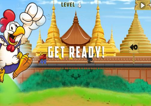 Temple Train Motu Patlu Runing apk screenshot