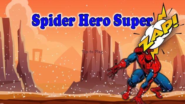 Temple Spider Hero Flying Run screenshot 4