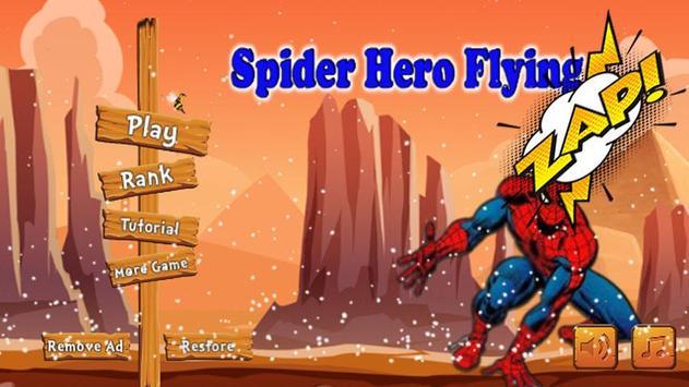 Temple Spider Hero Flying Run screenshot 8