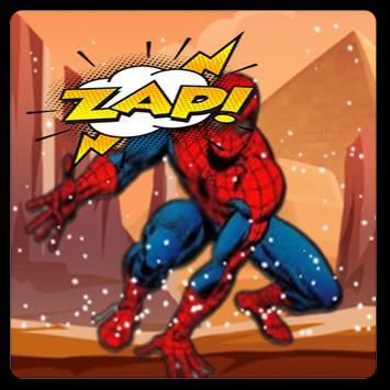 Temple Spider Hero Flying Run screenshot 3
