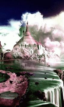 Temple on the Cliff Free LWP apk screenshot