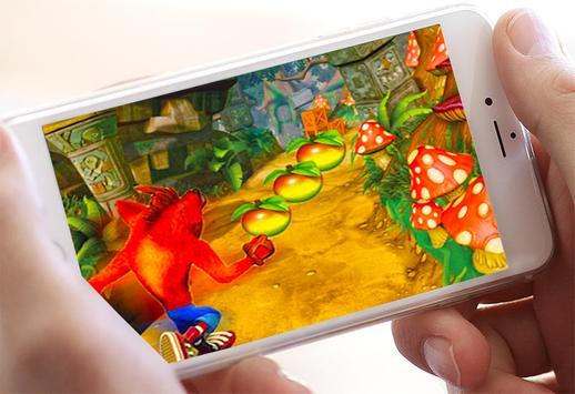 Temple crash bandico Adventure run screenshot 4