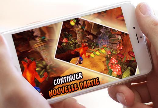 Temple crash bandico Adventure run screenshot 9