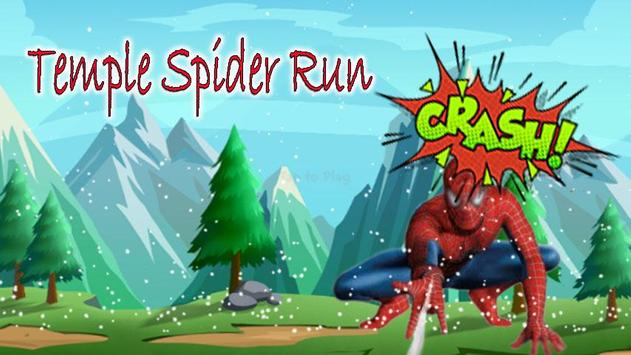 Temple Super Spider Run poster