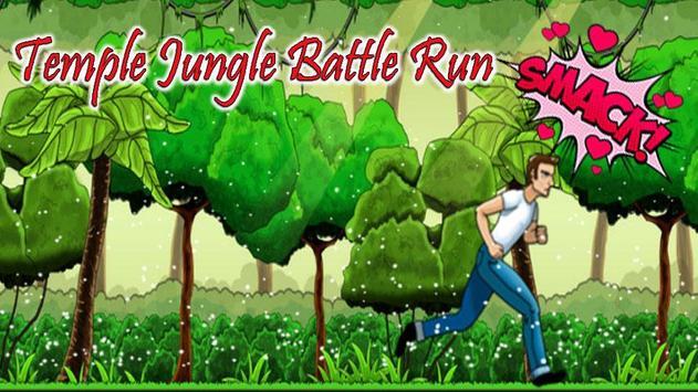 Temple Jungle Battle Run poster