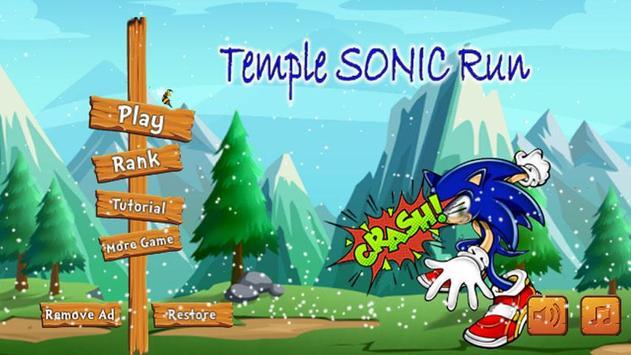 Temple Jungle Sonic World Run screenshot 1