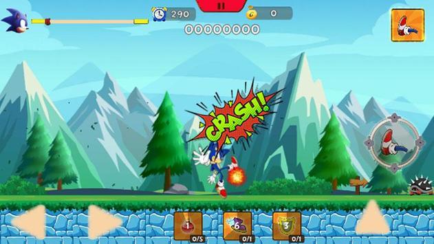 Temple Jungle Sonic World Run screenshot 7