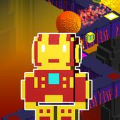 Iron Hopper – Endless Run, Jump & Hop Adventure icon