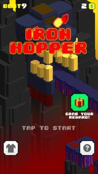 Iron Hopper – Endless Run, Jump & Hop Adventure poster