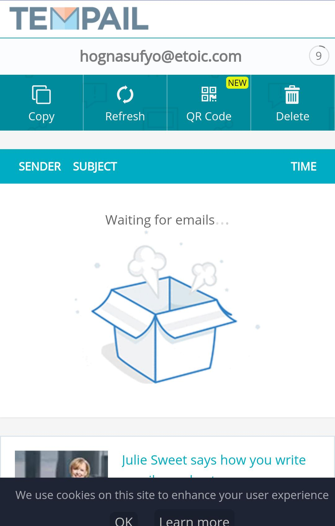 Temp Mail - Temp Mail,Fake Email for Android - APK Download