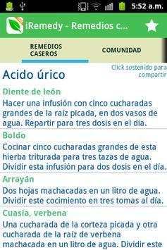 Remedios caseros - iRemedy poster