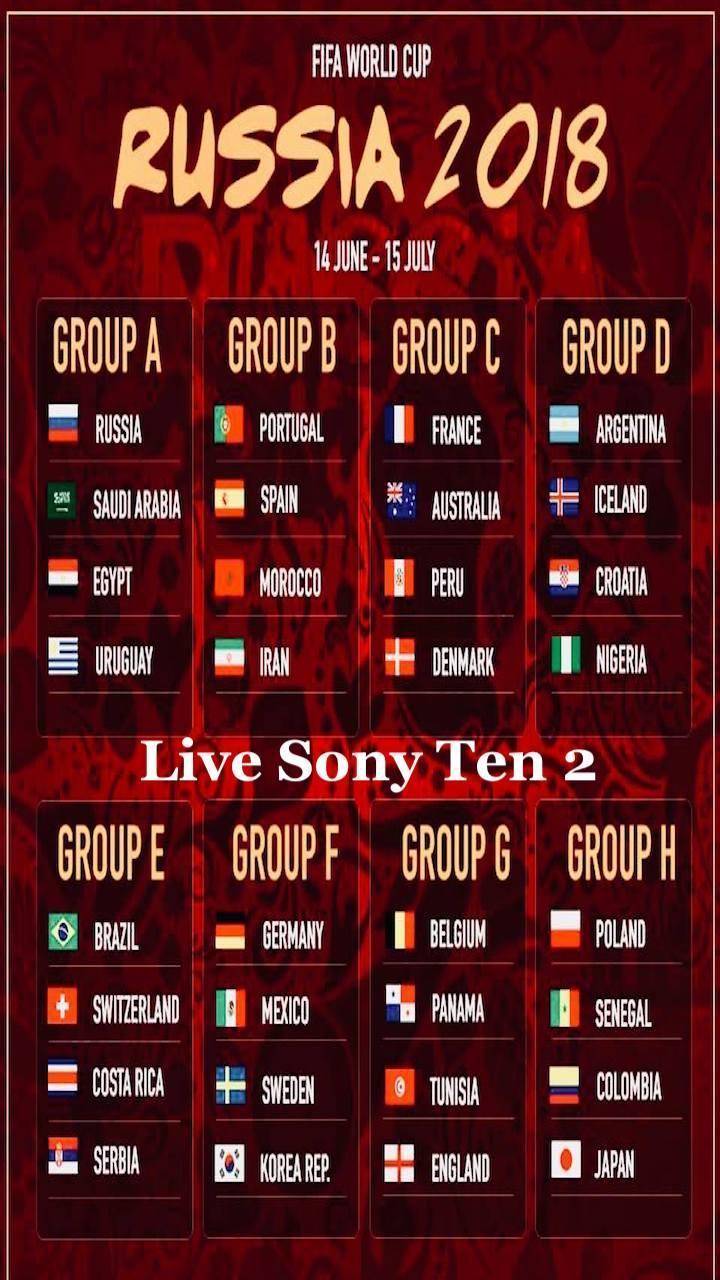 🌈 Sony ten 2 programme guide | Sony six cricket schedule