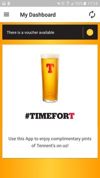 Tennent's T'APP poster