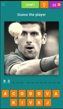 Guess the Tennis Player poster