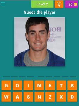 Guess the Tennis Player apk screenshot