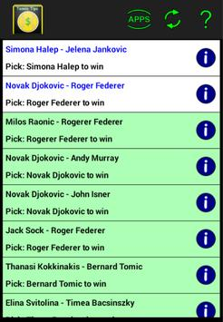 Tennis Betting Tips poster