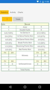 Tennis Umpire App poster