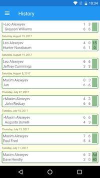 Tennis Umpire App apk screenshot