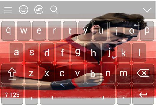 Keyboard for Roger federer screenshot 1