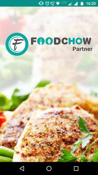 FoodChow Partner poster