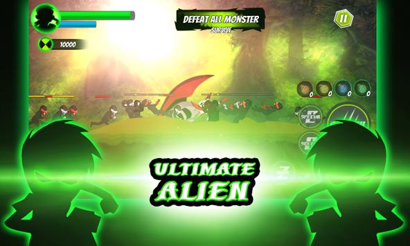 Super Fight Bentennis Alien Ultra Bigway Transform apk screenshot