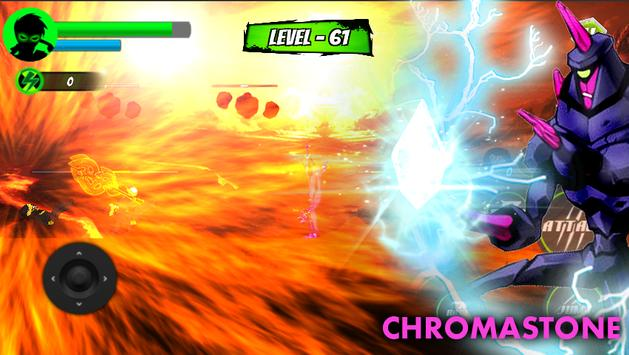 Fighting of Alien Power - Ultimate Chroma Stone apk screenshot
