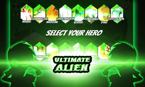 Battle fight of ultimate alien xlr8 transformation apk screenshot
