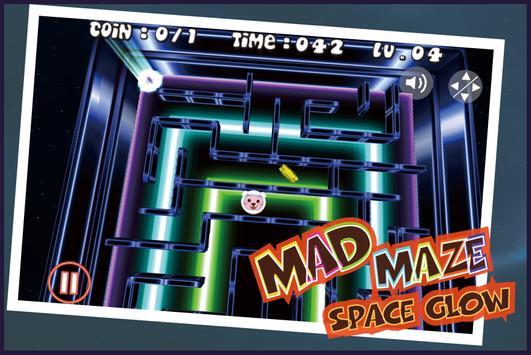 Maze - Space Glow Maze screenshot 11