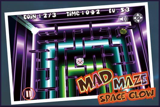 Maze - Space Glow Maze screenshot 6