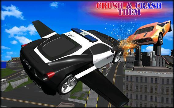 Flying Cars Police Battle apk screenshot