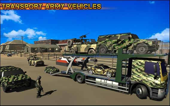Military Car Transporter Truck apk screenshot