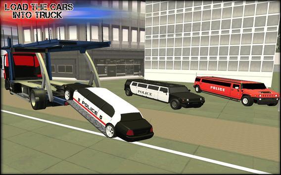 Police Cars Plane Transporter poster