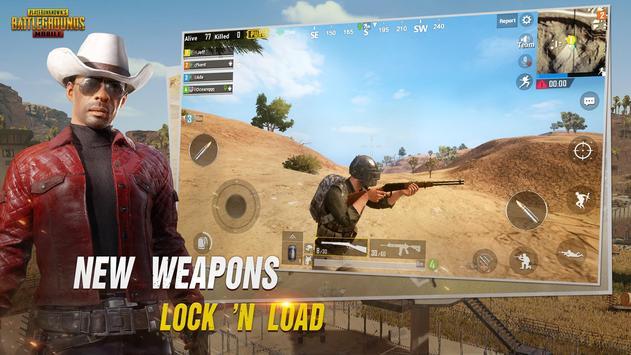 PUBG MOBILE captura de pantalla de la apk