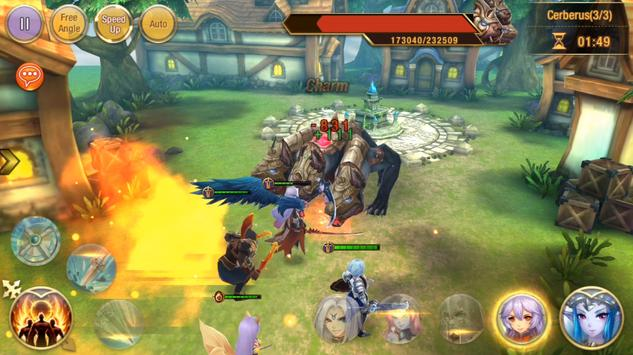 Heroes Warsong apk screenshot