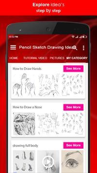 Pencil Sketch Drawing Ideas screenshot 3