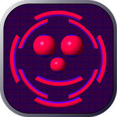 10 Circles ( Ball Fall ) Free icon