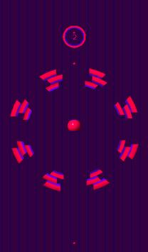 10 Circles ( Ball Fall ) Free screenshot 3
