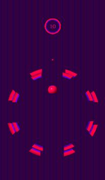 10 Circles ( Ball Fall ) Free screenshot 1