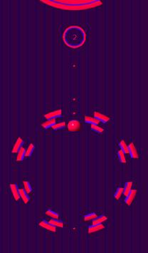 10 Circles ( Ball Fall ) Free screenshot 4