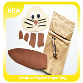 Creative Puppet Paper Bag icon