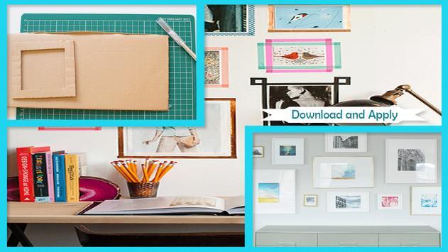 Simple DIY Frame Matting poster