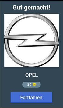 Auto Marken Quiz screenshot 1