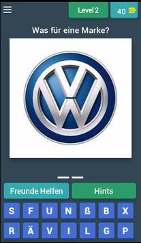 Auto Marken Quiz screenshot 2