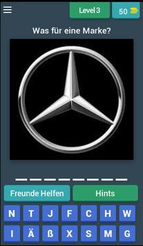 Auto Marken Quiz screenshot 3