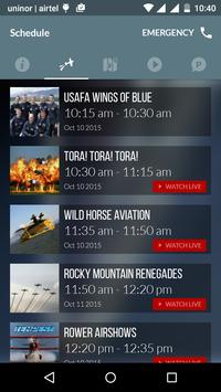 Live Airshow poster