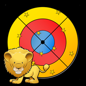 jungle darts game for kids icon
