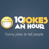 10 Jokes an hour icon
