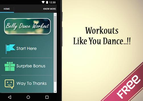 Belly Dance Workout Guide poster